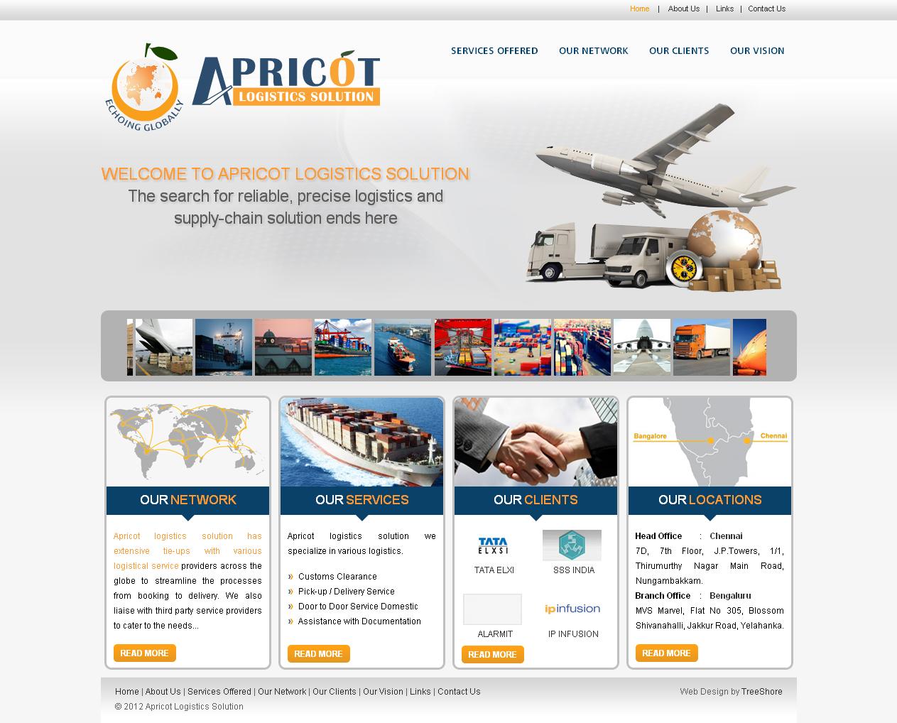 Apricot logistics solution