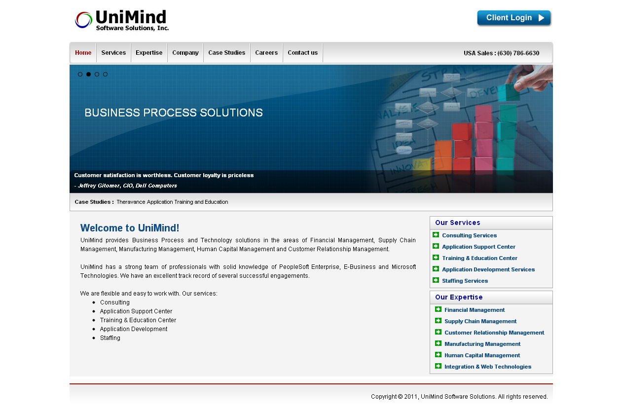 Unimind Software Solutions, Inc.