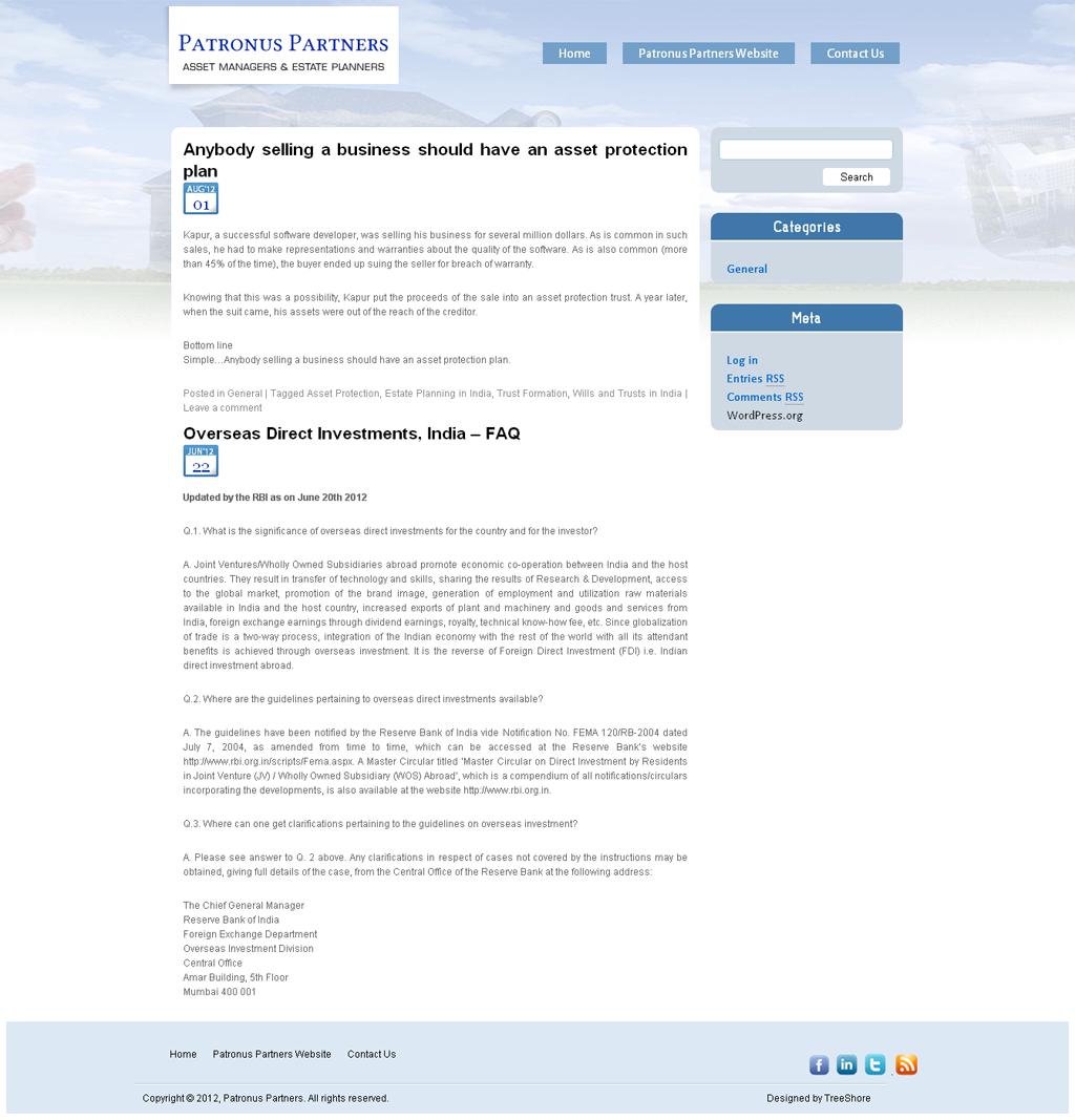 Patronus Partners Blog
