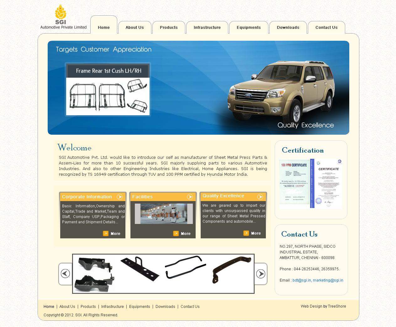 SGI Automotive Pvt Ltd.